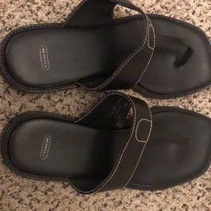 Coach Shoes - Coach leather sandals